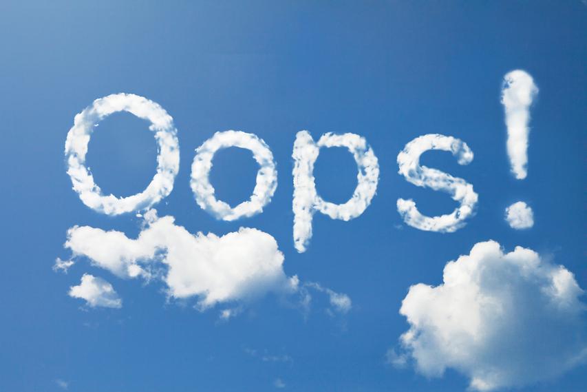 cloud mistakes